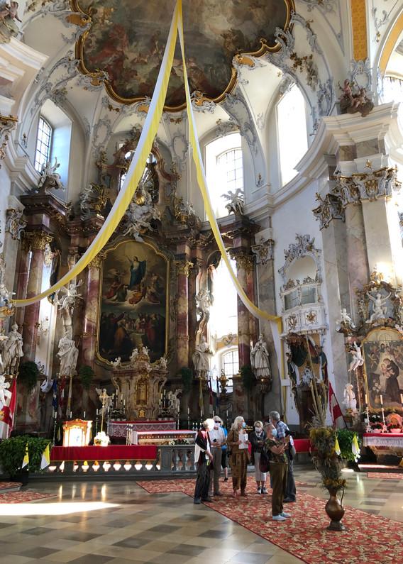 Hochaltar der Wallfahrtskirche Vierzehnheiligen in Bad Staffelstein