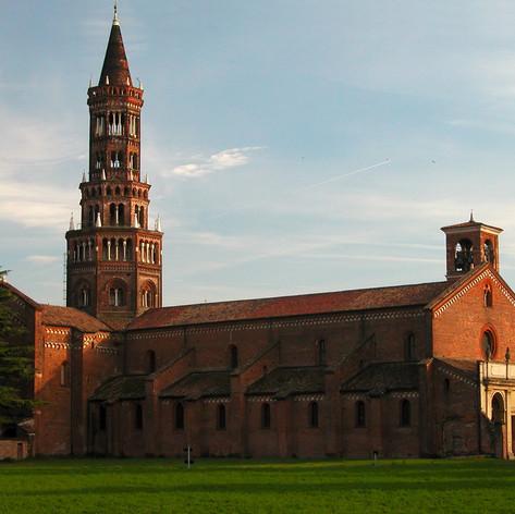 Das Kloster Chiaravalle Milanese, eine Zisterzienserabtei