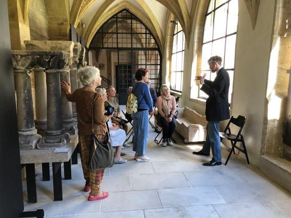 Im Diözesanmuseum Bamberg, unterwegs durch die Geschichte mit Dr. Kempkens