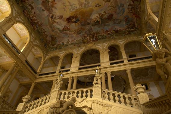 Treppenhaus Schloss Weissenstein