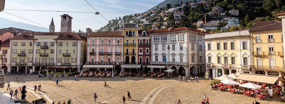 LOCARNO- FOTO LOCALITA Piazza Grande - L
