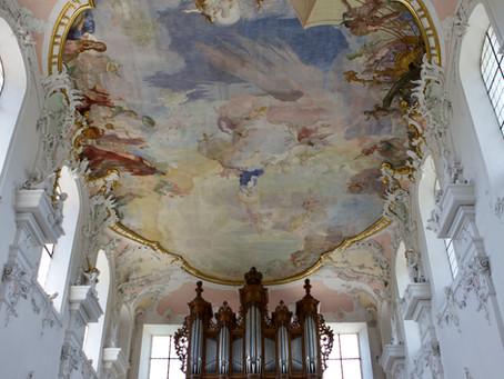 Marienbilder von Giuseppe Appiani im Arlesheimer Dom.