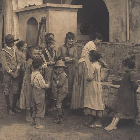 Alfred Stieglitz: The Last Joke, Bellagio,1887