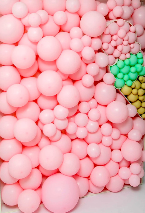 Balloon Wall Ice Cream Party 2020