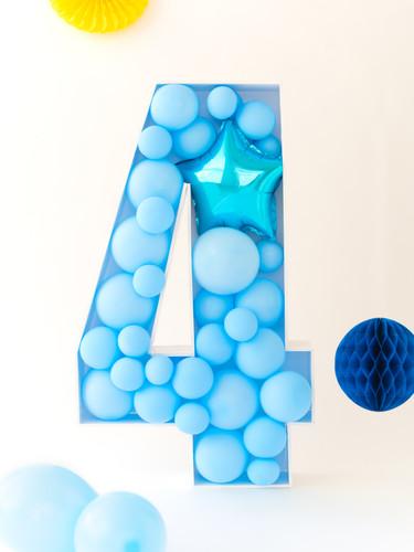 Mosaico globos 4 70cm