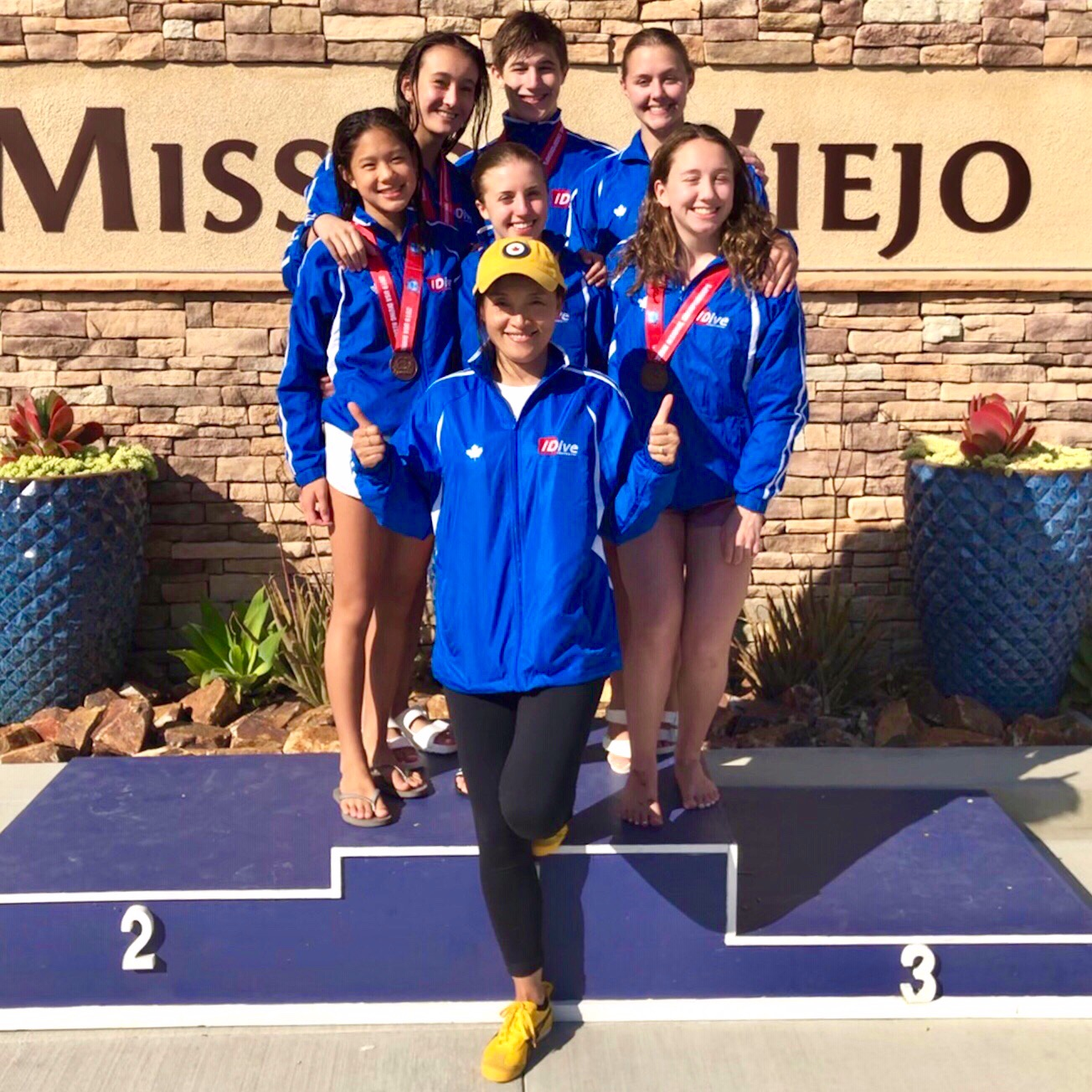 Team at Mission Viejo