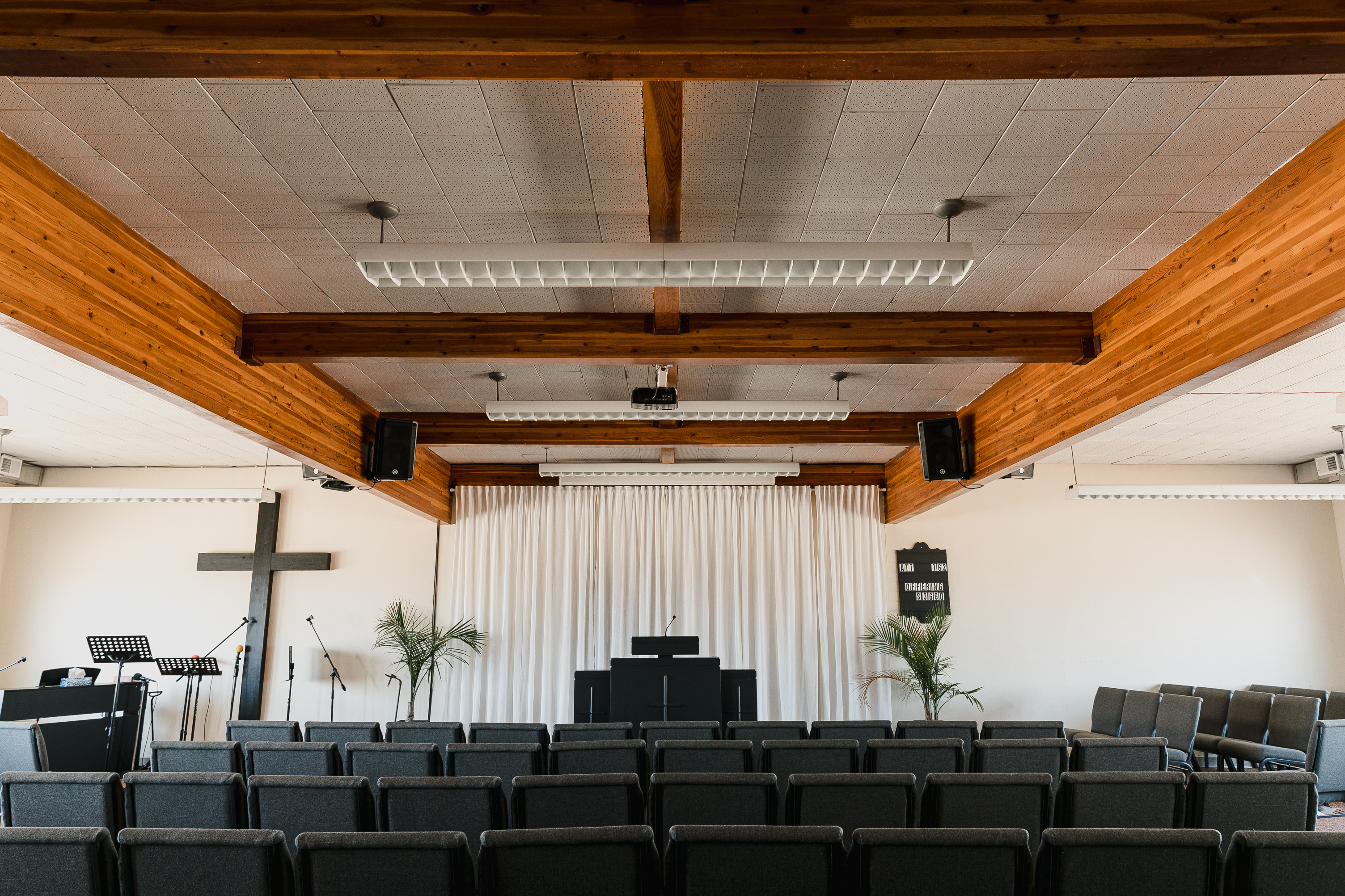 Beacon church befores by Baribeau Construction