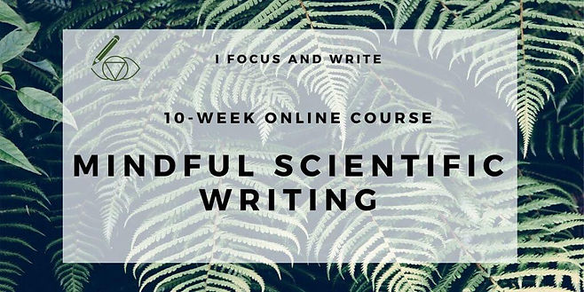 Online course Mindful Scientific Writing