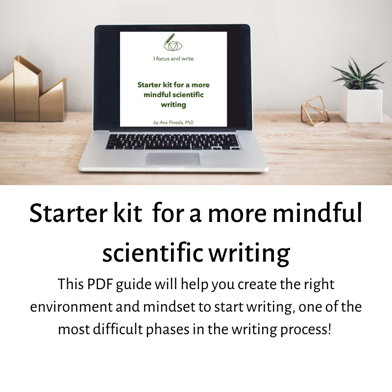 Download this pdf free guide start writing your scientific paper more mindfully. Then you can decide the section that suits you best to your situation