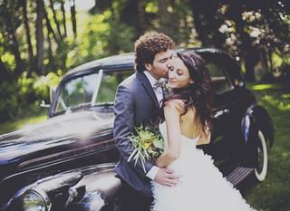 Bryan & Heather - Cedarburg fairy-tale garden wedding
