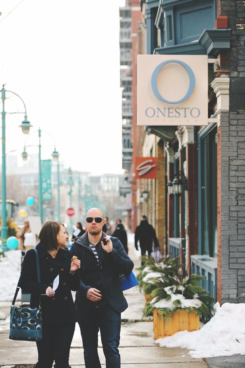 Onesto, wedding venues Third Ward, Onesto restaurant, Onesto Milwaukee, Weddings in the Ward
