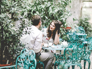 Laura & Robert - engagement session at Infinitea in Bucharest, Romania