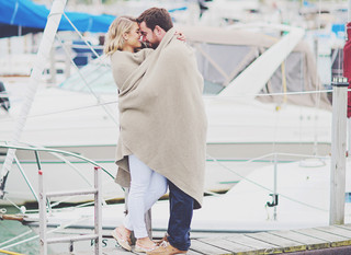 Joe & Chrissy - Sailing engagement session