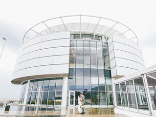 Elena & Peter - A Greek Wedding at the Discovery World in Milwaukee