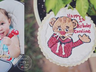 Caroline`s 1st birthday party