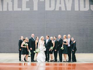 Kate & Jonathan - Harley Davidson, Milwaukee