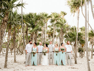 Gina & Austin -  Wedding celebration in Riviera Maya, Mexico