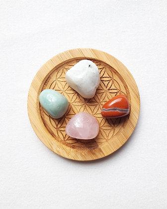 Lot pierres naturelles GROSSESSE/MATERNITE