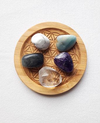 Lot pierres naturelles ANTI-STRESS / RELAXATION