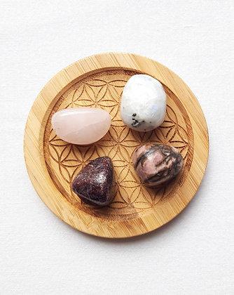 Lot pierres naturelles AMOUR ET SENSUALITE