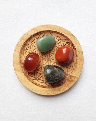 Lot pierres naturelles CREATIVITE