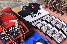 Prizes for equine obstacle challege champions, Sponsor Purina, Sponsor Jodie's HarnessTack