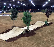 obstacle at AOCS horse show