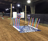 Horse obstacle, AOCS, Alabama obstacle challenge series horse competition, carwash