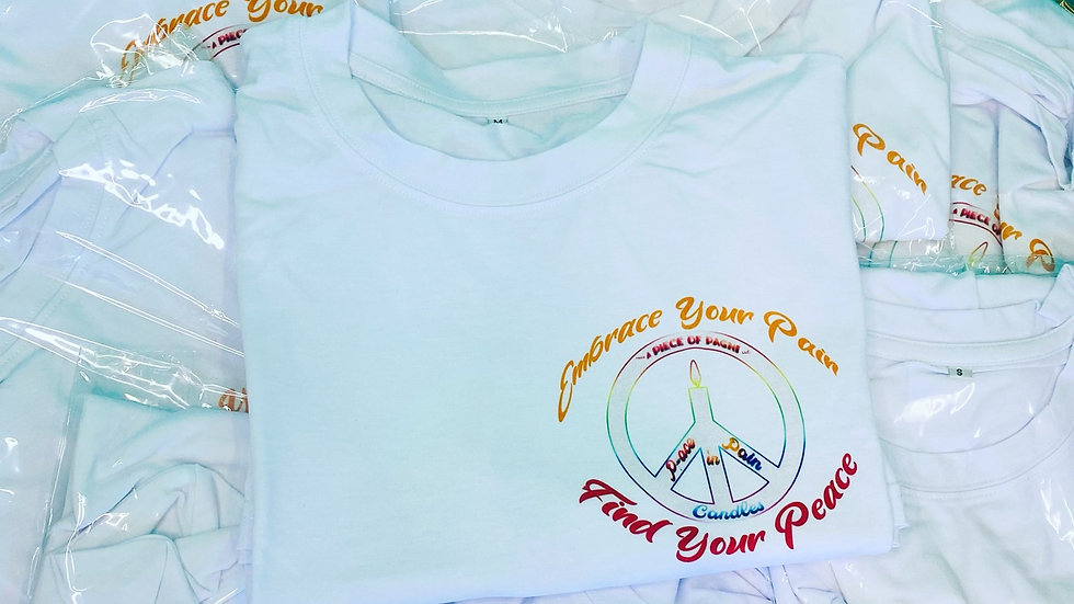 Embrace Your Pain Find Your Peace Soft T Shirts