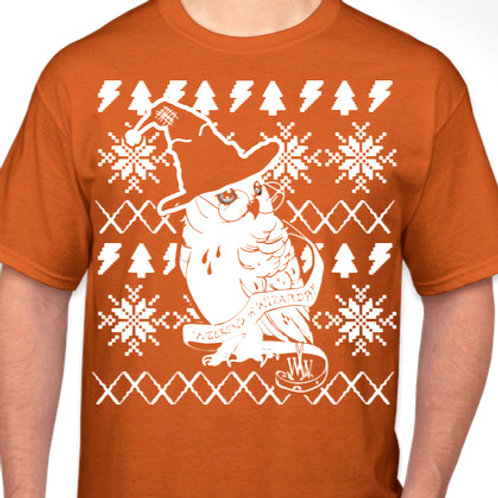 Adult Wizard's Yule Feast Holiday Shirt