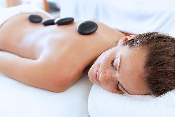 8.Hot Stone Massage