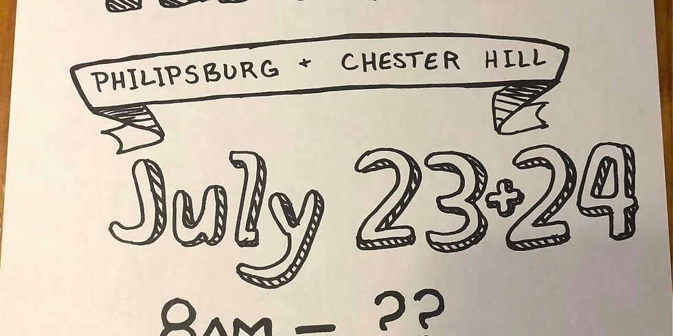 Community Yard Sale - Philipsburg and Chester Hill