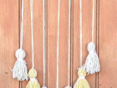 Project Idea: Tassel Wall Hanging