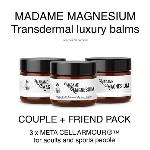 Couple + Friend Pack (3x MCA creams)