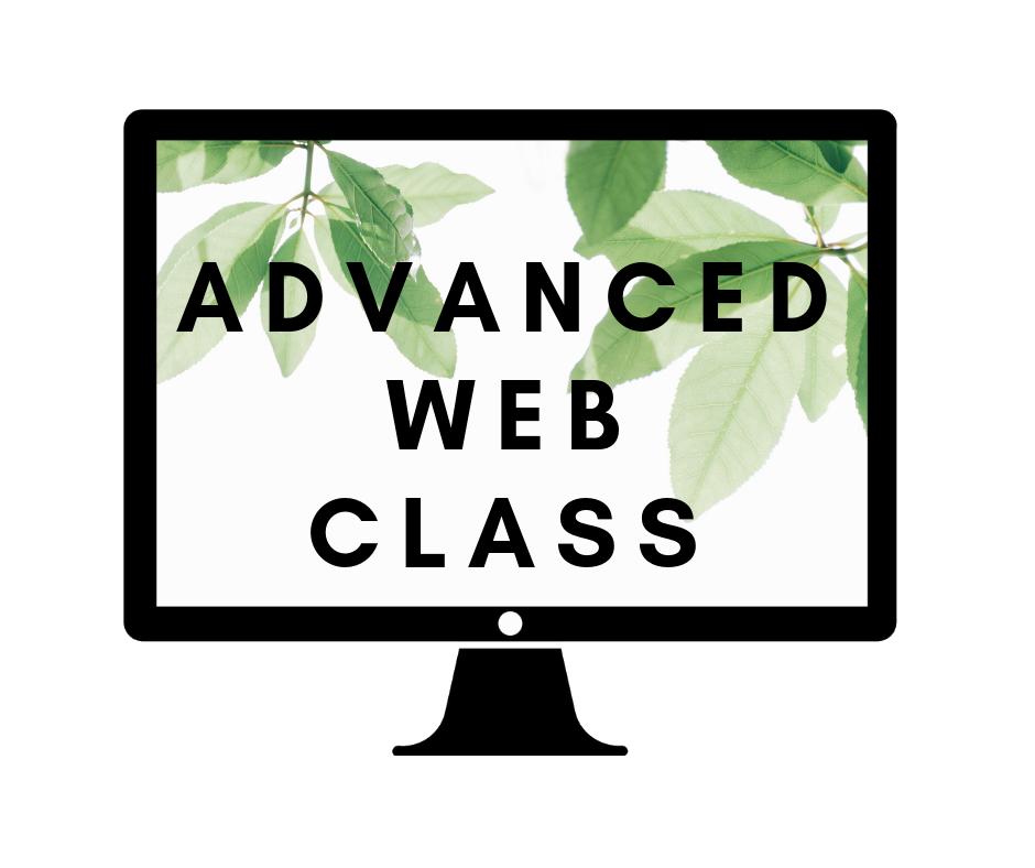 Advanced Web Class