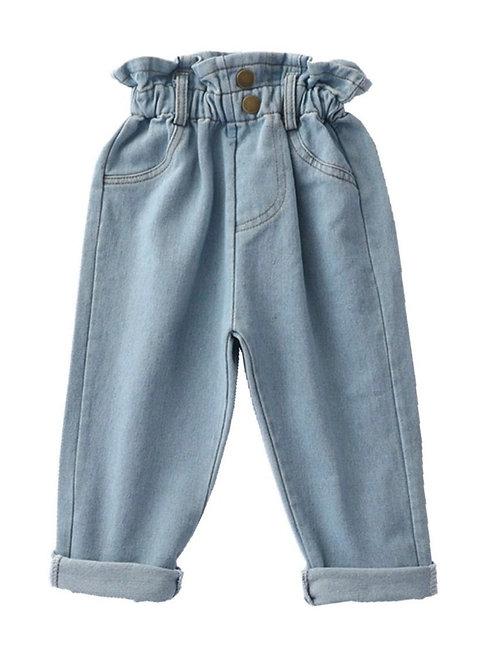 Chic High Waist Denim Jeans