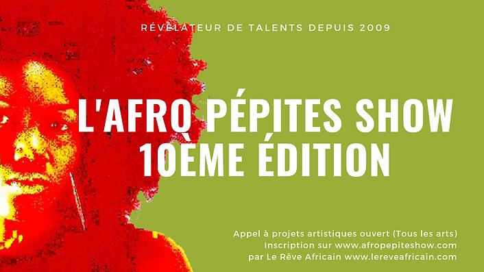 1- Le Reve Africain - Afro Pepites Show