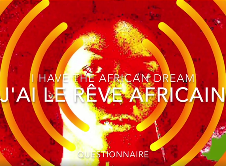 """""""THE AFRICAN DREAM"""" QUESTIONNAIRE"""