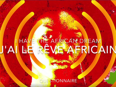 """THE AFRICAN DREAM"" QUESTIONNAIRE"