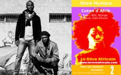 Artiste : Coton d'Afrik