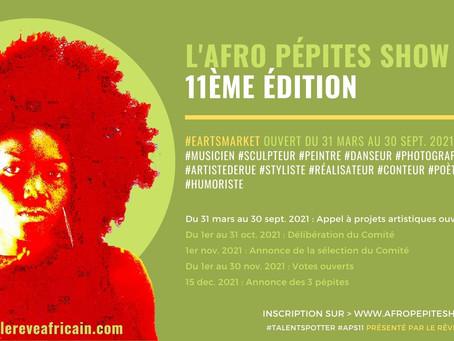 Lancement de l'Afro Pépites Show 11ème