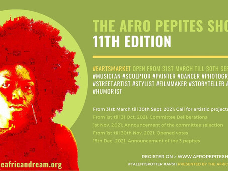 Opening of the Afro Pepite Show 11th