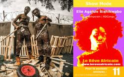 Styliste : Elie Aganze Bishikwabo