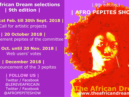 THE AFRO PEPITES SHOW 2018