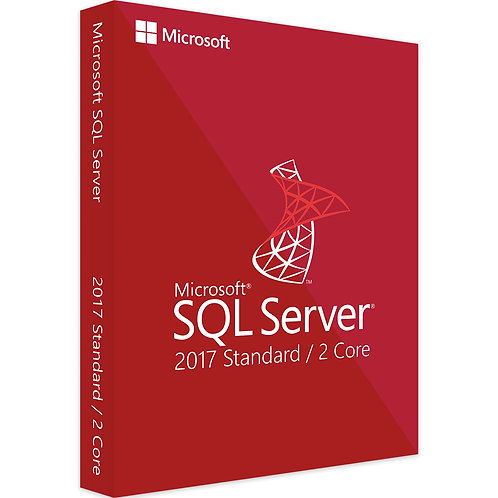 Microsoft SQL Server 2017 Standard 2 Core
