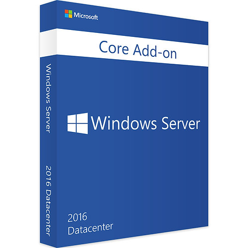 Microsoft Windows Server 2016 Datacenter 2-Core - Zusatzlizenz