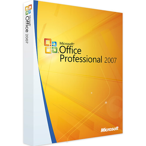 Microsoft Office 2007 Professional Plus