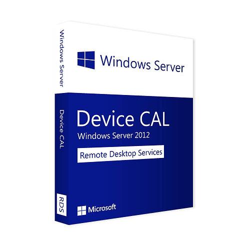 Microsoft Remote Desktop Services 2012 Device Cal