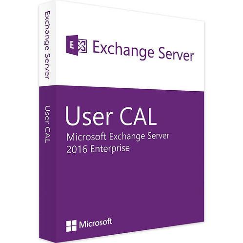 Microsoft Exchange Server 2016 Enterprise User Cal
