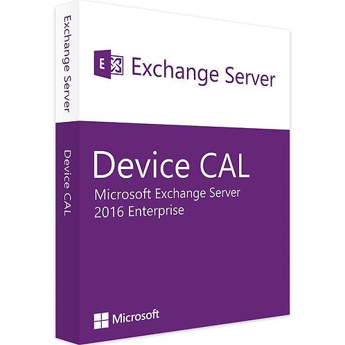 Microsoft Exchange Server 2016 Enterprise Device Cal